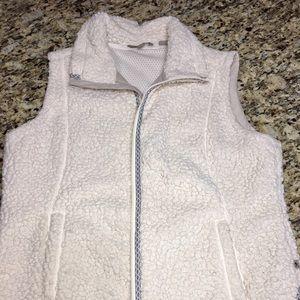 Royal Robbins faux shearling vest. Size XL